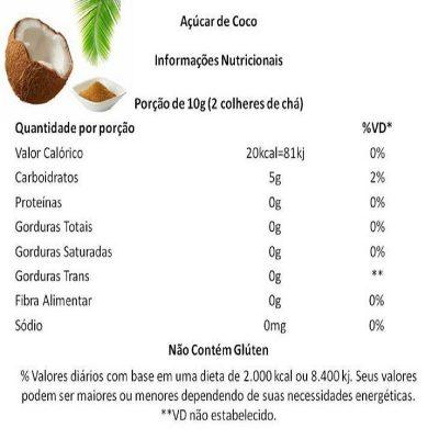 Açucar de Coco 1kg