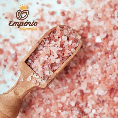 Sal rosa do himalaia grosso